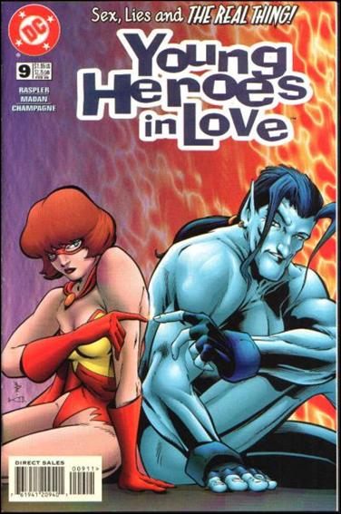 Young Heroes in Love 9-A by DC