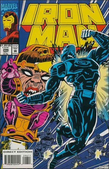 Iron Man (1968) 296-A by Marvel