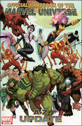 Official Handbook of the Marvel Universe A to Z Update 2-A by Marvel