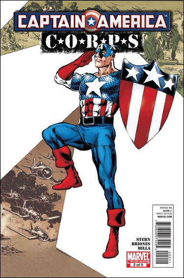 Captain America Corps 2-A by Marvel