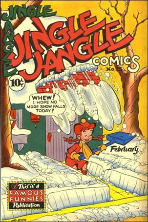 Jingle Jangle Comics 25-A