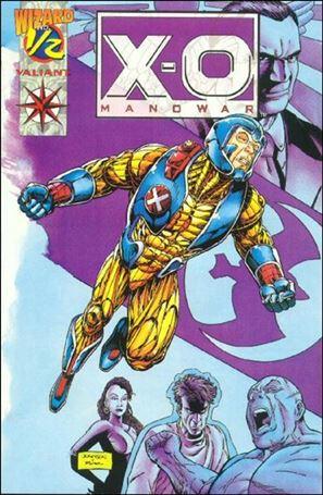 X-O Manowar (1992) 1/2-A