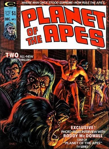 Planet of the Apes (1974) 3-A by Marvel