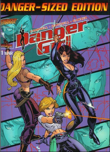 Danger Girl 1-F by Image