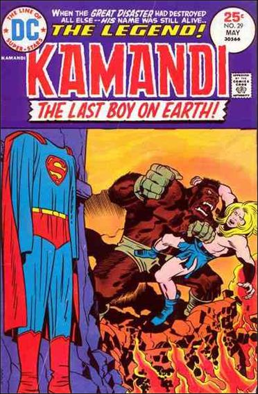 Kamandi, the Last Boy on Earth 29-A by DC