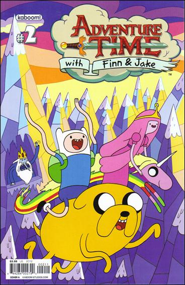 Adventure Time 2-A by Kaboom!