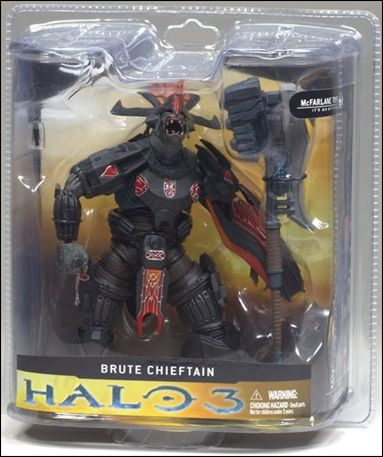 Halo 3 Campaign Brute Chieftain, Jan 2008 Action Figure by