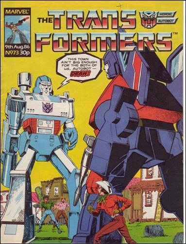 Transformers (UK) 73-A by Marvel UK
