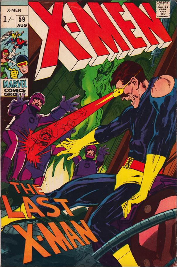 X-Men (1963) 59-B by Marvel