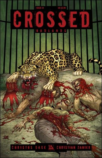 Crossed: Badlands 31-A by Avatar Press