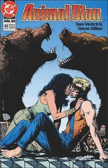Animal Man (1988) 43-A by Vertigo
