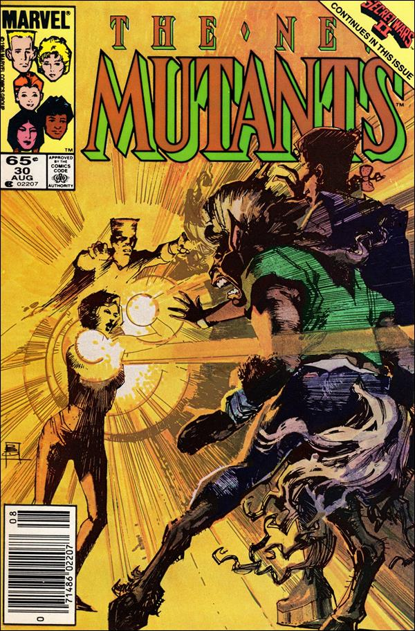 New Mutants (1983) 30-A by Marvel