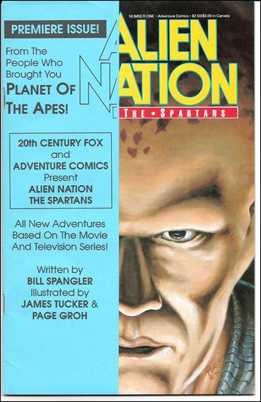 Alien Nation: The Spartans 1-A by Adventure