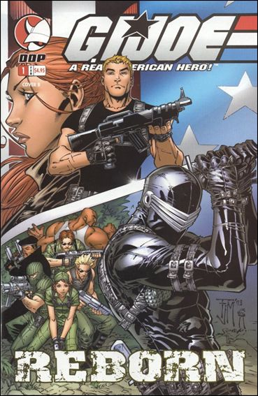 G.I. Joe: G.I. Joe Reborn 1-B by Devil's Due