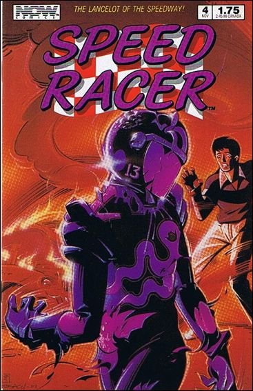 Speed Racer (1987) 4-A by Now Comics