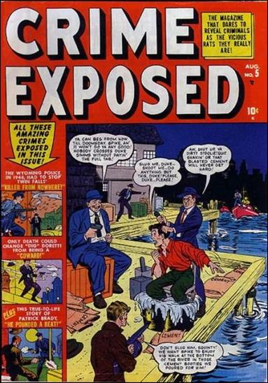 Crime Exposed (1950) 5-A by Marvel