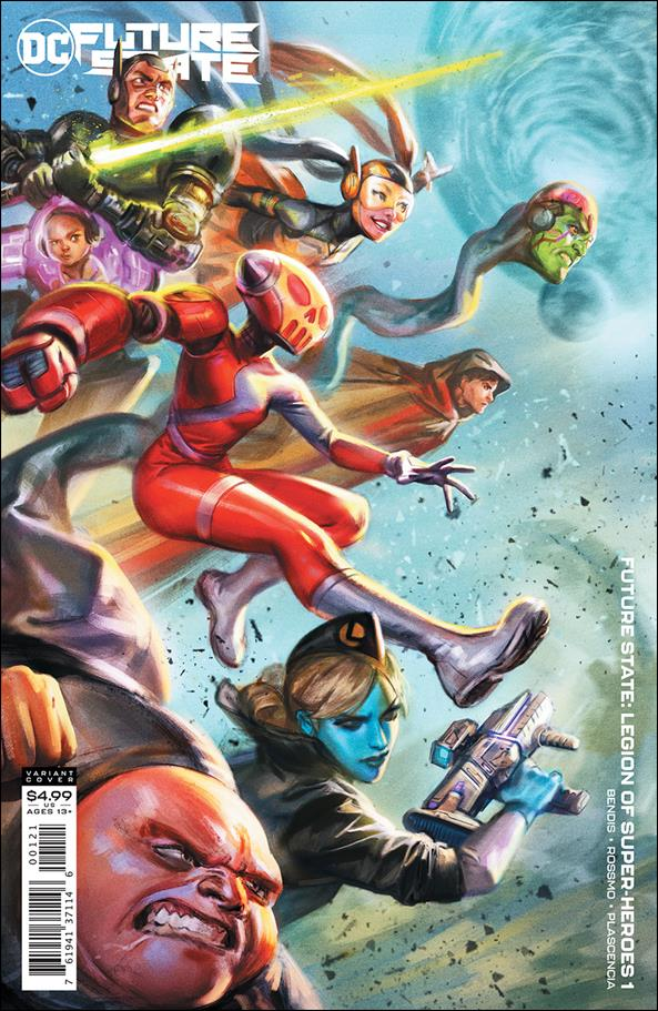 Future State: Legion of Super-Heroes 1-B by DC