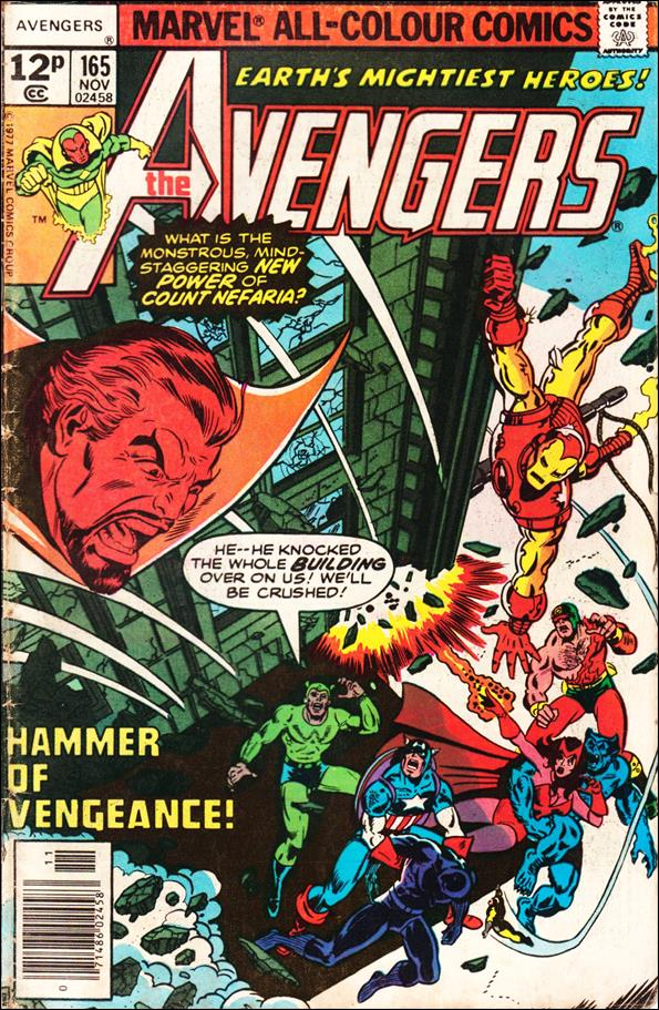 Avengers (1963) 165-B by Marvel
