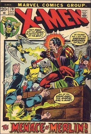 X-Men (1963) 78-A