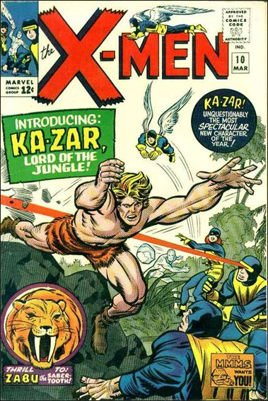 X-Men (1963) 10-A by Marvel