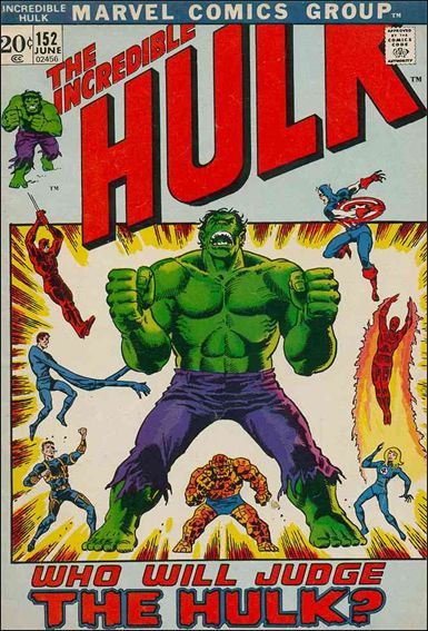 Incredible Hulk (1968) 152-A by Marvel
