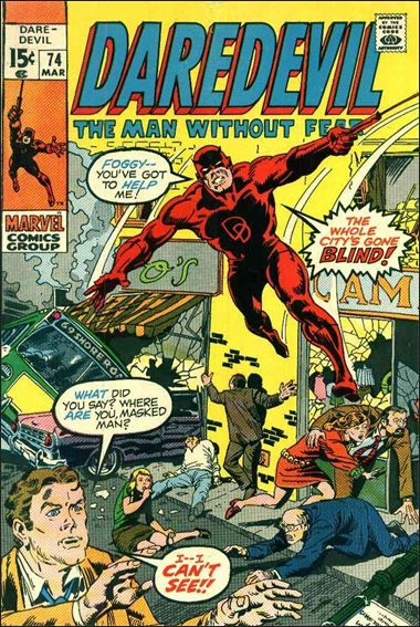 Daredevil (1964) 74-A by Marvel