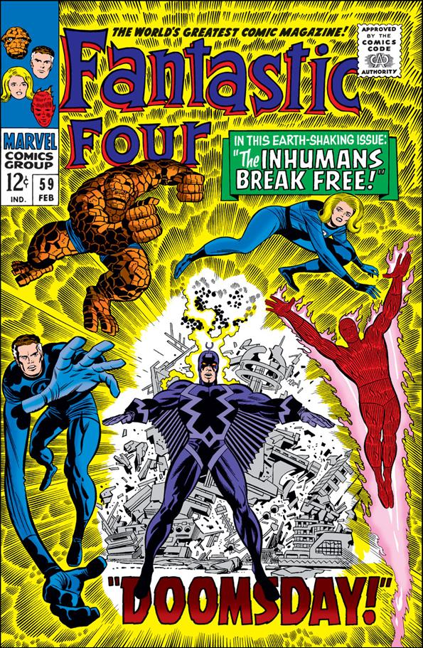 Fantastic Four (1961) 59-A by Marvel