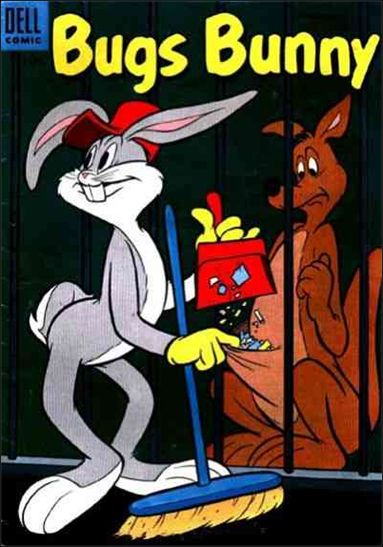 Bugs Bunny (1952) 41-A by Dell
