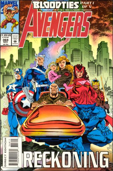 Avengers (1963) 368-A by Marvel