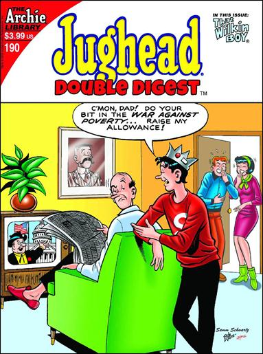 Jughead's Double Digest Magazine 190-A by Archie