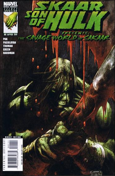 Skaar: Son of Hulk Presents - Savage World of Sakaar 1-A by Marvel