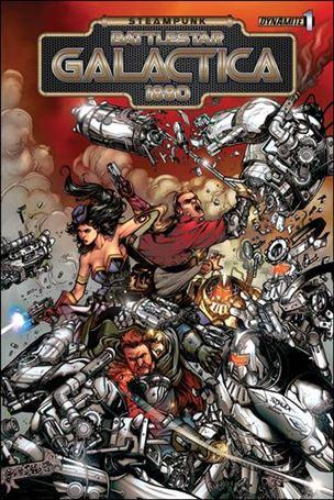 Steampunk Battlestar Galactica: 1880 1-B