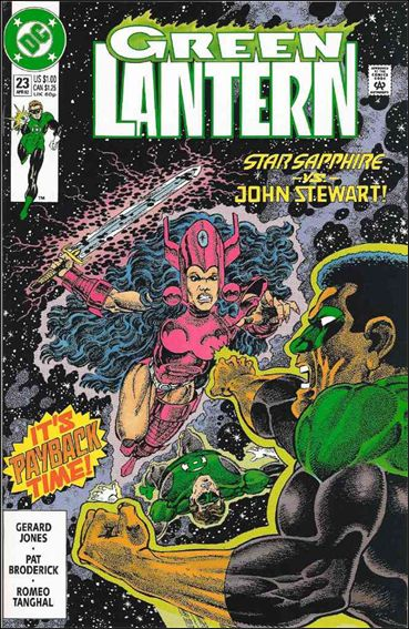 Green Lantern (1990) 23-A by DC