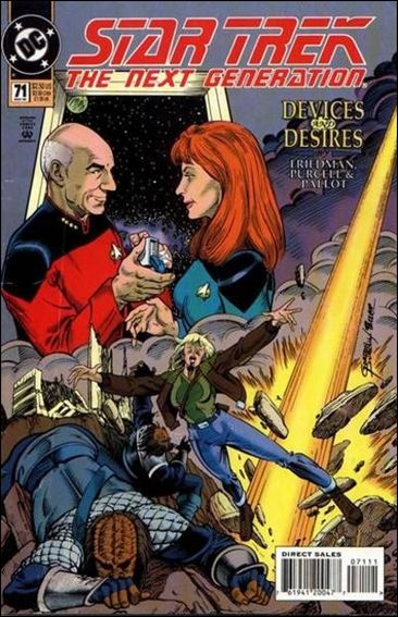 Star Trek: The Next Generation (1989) 71-A by DC