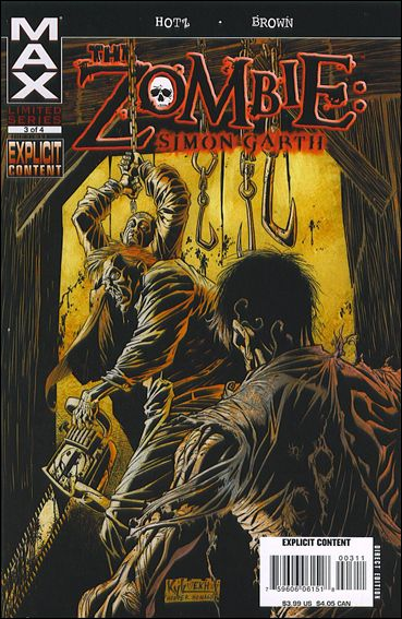 Zombie: Simon Garth 3-A by Max