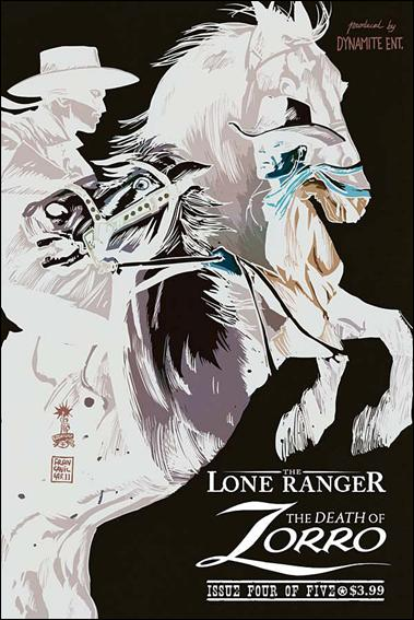 Lone Ranger &amp; Zorro: The Death of Zorro 4-B by Dynamite Entertainment