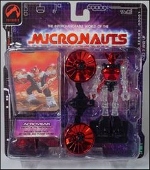 Micronauts (Series 1) Acroyear (Red)
