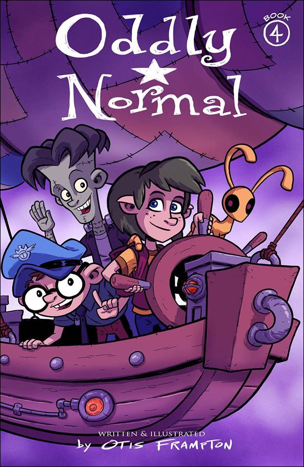 Oddly Normal (2015) 4-A by Image