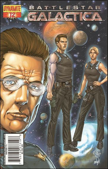 Battlestar Galactica (2006) 12-C by Dynamite Entertainment