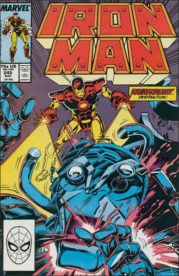 Iron Man (1968) 245-A by Marvel