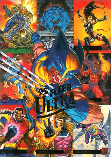 1995 Fleer Ultra X-Men (Promo) NN 3-A by Fleer