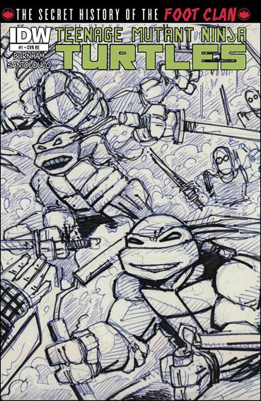 Teenage Mutant Ninja Turtles: The Secret History of the Foot Clan 1-F by IDW