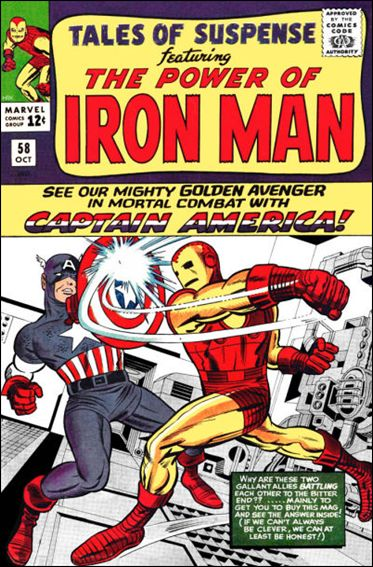 Tales of Suspense (1959) 58-A by Marvel