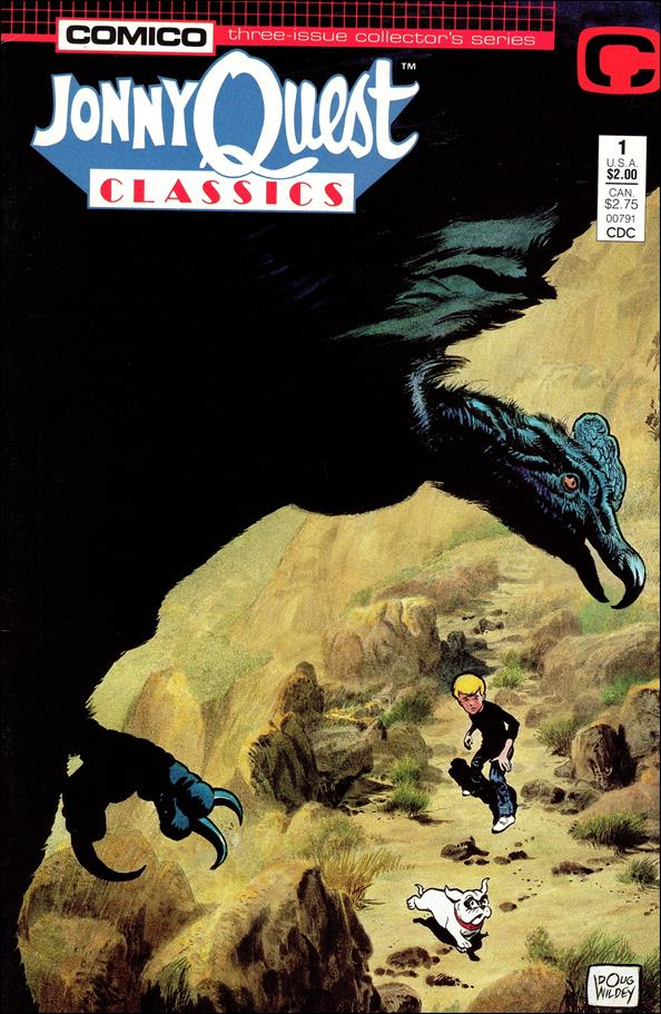Jonny Quest Classics 1-A by Comico