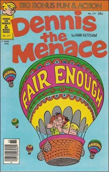 Dennis the Menace Bonus Magazine Series 177-A by Fawcett