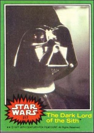 Star Wars: Series 4 (Base Set) 217-A