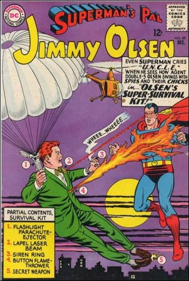 Superman's Pal Jimmy Olsen 89-A by DC