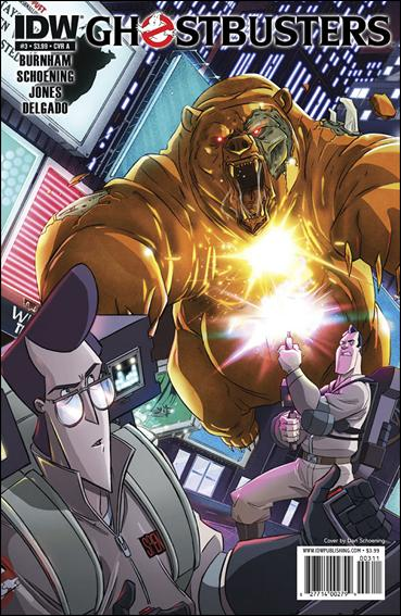Ghostbusters (2011) 3-A by IDW