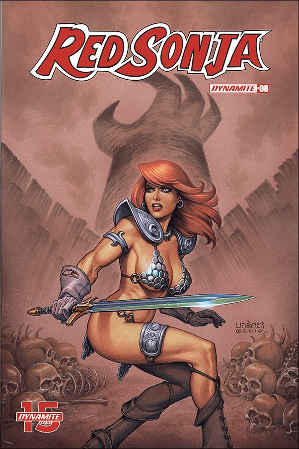 Red Sonja (2019) 8-B by Dynamite Entertainment