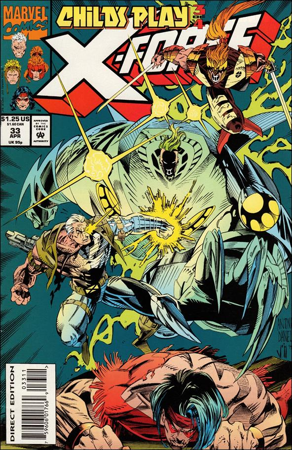 X-Force (1991) 33-A by Marvel